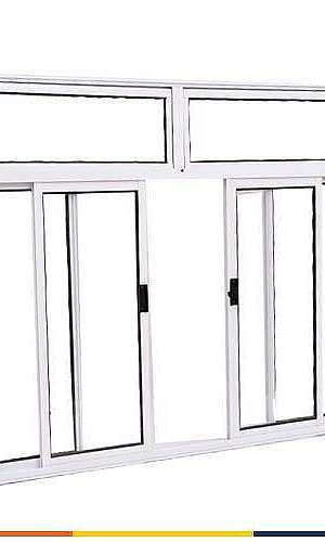 Janela de aluminio para quarto