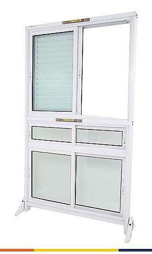 Porta balcão de vidro temperado
