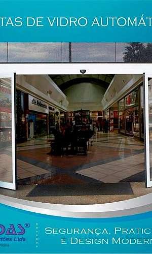 Portas automáticas de vidro preço