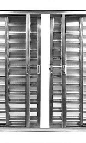 Veneziana de Aluminio para Quarto