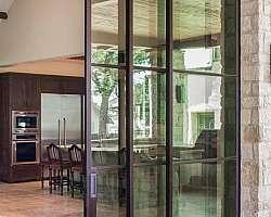Valor de porta de vidro