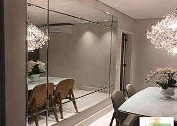 Espelho bisotado parede