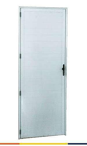 Porta de alumínio para banheiro