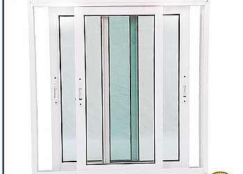 Porta de vidro de correr 4 folhas