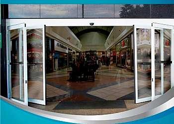 Porta de vidro automática preço