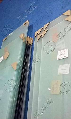 Prestação de Serviços em Jateamento de Vidros